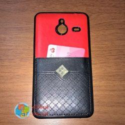کاور دو لایه چرمی و ژله ای Lumia 640 XL مارک Fashion