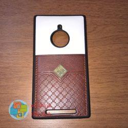 کاور دو لایه چرمی و ژله ای Lumia 830 مارک Fashion
