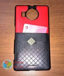 کاور دو لایه چرمی و ژله ای Lumia 950 XL مارک Fashion
