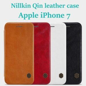 کیف چرمی iPhone 7 مارک Nillkin Qin