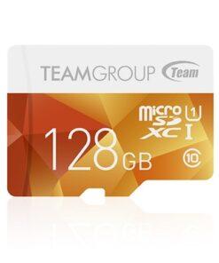 کارت حافظه Micro SDXC 128GB Class 10-u1 ColorCard مارک Team Group