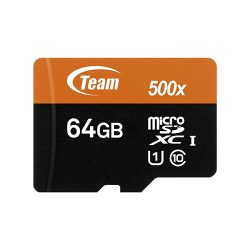 کارت حافظه Micro SDXC 64GB Class 10-u1 مارک Team Group