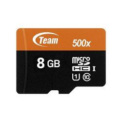 کارت حافظه Micro SD 8GB Class 10-u1 مارک Team Group