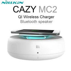 اسپیکر بلوتوث و شارژر سریع بیسیم نیلکین مدل Cozy MC2