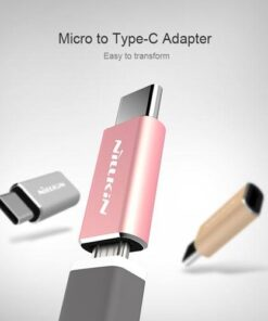 تبدیل اورجینال Micro USB To Type C مارک نیلکین