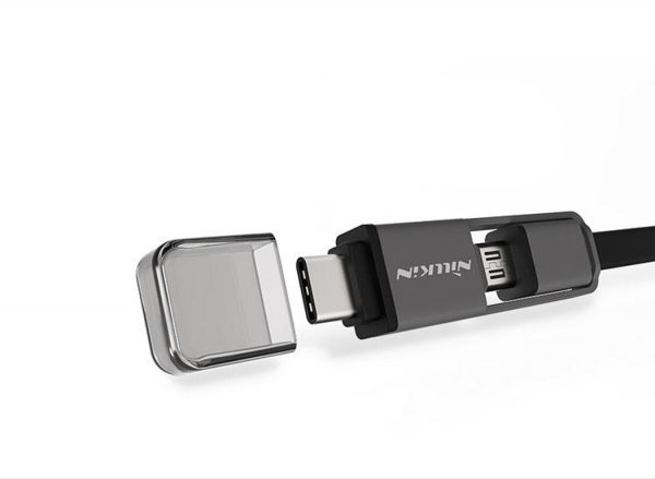 کابل دو کاره تایپ سی و میکرو یو اس بی نیلکین Nillkin Plus Cable