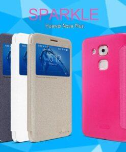 کیف هوشمند Sparkle گوشی هوآوی Nova Plus مارک نیلکین