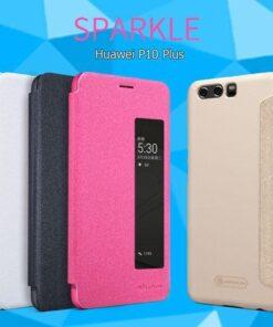 کیف هوشمند Sparkle گوشی هوآوی P10 Plus مارک نیلکین