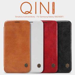 کیف چرمی سامسونگ Galaxy S6 مارک Nillkin Qin