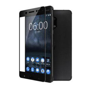محافظ صفحه نمایش شیشهای 3D Full گوشی نوکیا 6