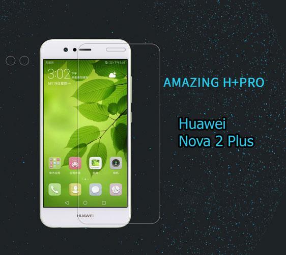 محافظ صفحه نمایش شیشه ای Nillkin Anti-Explosion H+ Pro هوآوی Nova 2 Plus