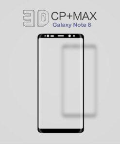 گلس 3D و نشکن گلکسی نوت8 Nillkin 3D CP+MAX Anti-Explosion Glass
