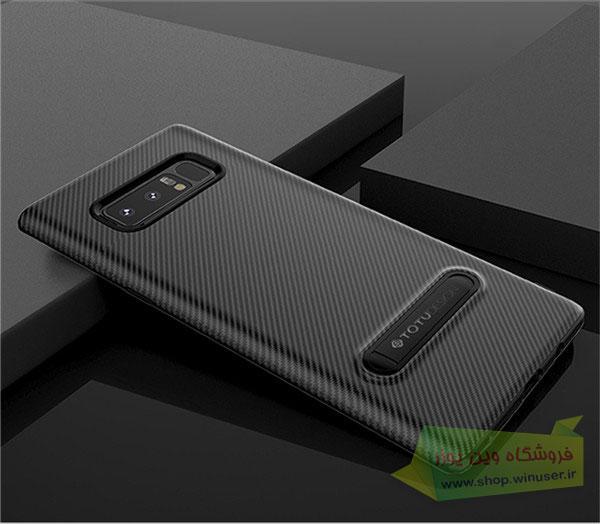 محافظ ژله ای کربنی گلکسی نوت 8 مارک Totu Design