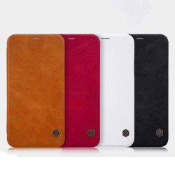 کیف چرمی آیفون ایکس iphone x مارک Nillkin Qin