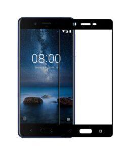 محافظ صفحه نمایش شیشهای 3D Full گوشی نوکیا 8 مارک REMO