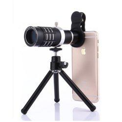 لنزهای Telephoto Lens زوم 12X – 18X | ماکرو | واید + پایه