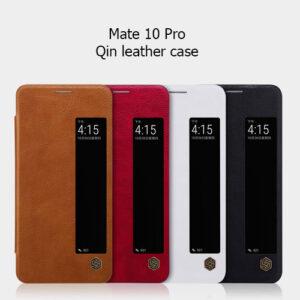 کیف چرم هوشمند Qin نیلکین گوشی هوآوی Mate 10 Pro