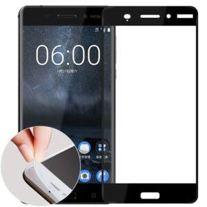 نانو گلس تمام صفحه مدل فول چسب گوشی نوکیا 6