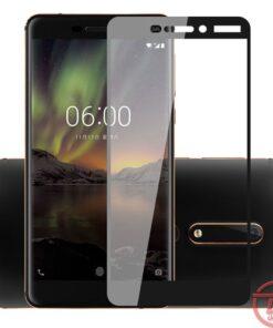 نانو گلس فول چسب تمام صفحه گوشی نوکیا 6 (2018)