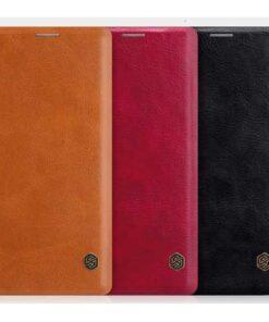 کیف چرمی گلکسی نوت 9 مارک Nillkin Qin