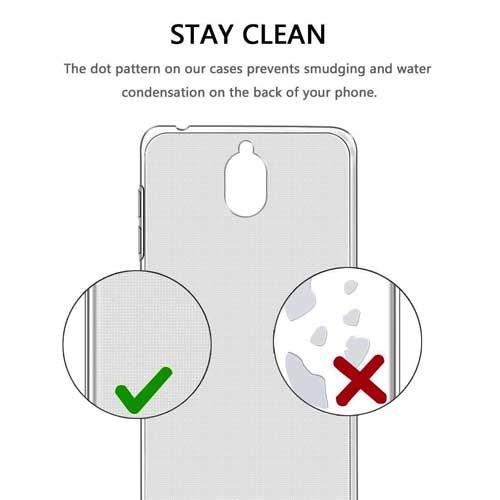 قاب محافظ ژلهای شفاف نوکیا 3.1   Nokia 3.1