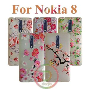 Rose & Neon Cover For Nokia 8