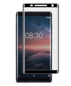 گلس 3D محافظ صفحه نمایش گوشی نوکیا 8 سیروکو (دورچسب)