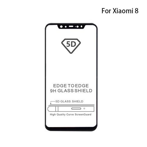 گلس 3D تمام صفحه فول چسب Xiaomi MI8