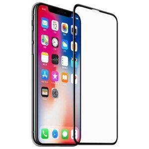 گلس 5D تمام صفحه فول چسب آیفون ایکس آر   iphone XR