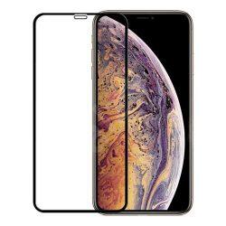 گلس 5D تمام صفحه فول چسب آیفون ایکس اس مَکس | iphone XS MAX