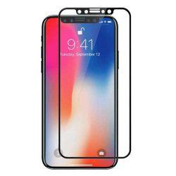 گلس 5D تمام صفحه فول چسب آیفون XS و iphone X
