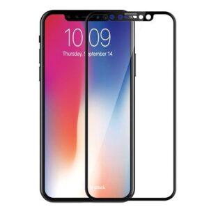 گلس 6D تمام صفحه فول چسب آیفون XS و iphone X