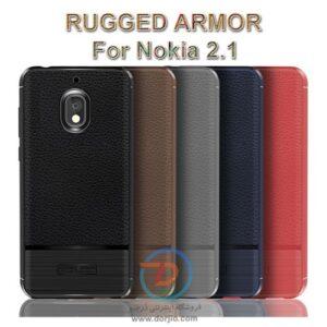 گارد ژلهای ضد ضربه گوشی نوکیا 2.1  مدل Rugged Armor