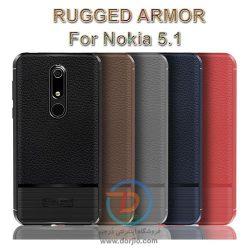 گارد ژلهای ضد ضربه گوشی نوکیا 5.1  مدل Rugged Armor