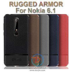 گارد ژلهای ضد ضربه گوشی نوکیا 6.1  مدل Rugged Armor