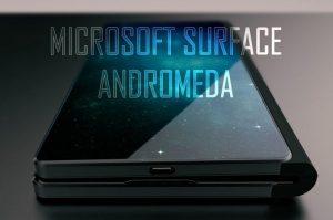 رندرهای جدید از مایکروسافت سرفیس اندرومدا تلفن هوشمند تاشوی ردموندی ها