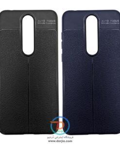 گارد ژلهای نوکیا ۵.۱ پلاس | Nokia x5 طرح چرم مارک Auto Focus