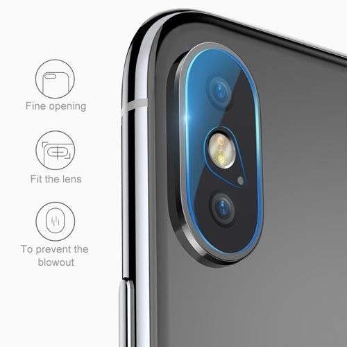 گلس محافظ لنز دوربین آیفون iphone XS MAX