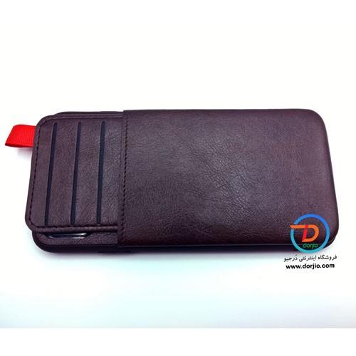 کیف چرمی آیفون XS MAX مدل TOKIN