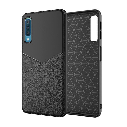 Samsung Galaxy A7 2018 Leather TPU Case