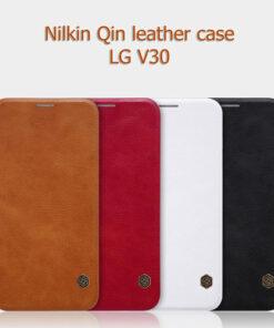 کیف چرمی الجي وي 30 مارك Nillkin Qin