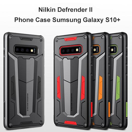 گارد محافظ سامسونگ گلکسی اس +10 مدل NILLKIN Defender case Ⅱ