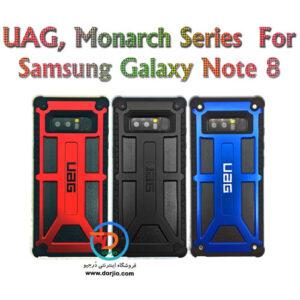 گارد ضد ضربه سامسونگ Galaxy Note 8 طرح استتار چریکی مارک UAG