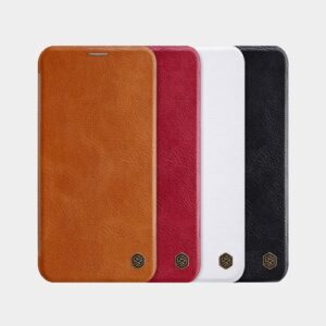 کیف چرمی اپل آیفون 11 پرو مارک Nillkin Qin