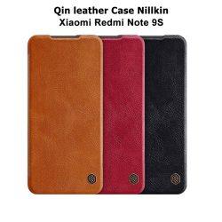 کیف چرمی شیائومی Redmi Note 9S مارک نیلکین