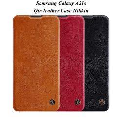 کیف چرمی سامسونگ Galaxy A21s مارک نیلکین