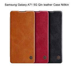 کیف چرمی سامسونگ Galaxy A71 5G مارک نیلکین