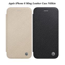 فلیپ کاور چرمی اپل iPhone 8 مارک Ming نیلکین