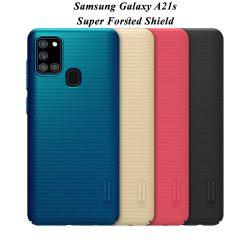 قاب محافظ سامسونگ Galaxy A21s مارک نیلکین + استند