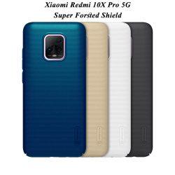 قاب محافظ شیائومی Redmi 10X Pro 5G مارک نیلکین + استند